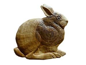 Изготовление деревянного магнита «Заяц». Ярмарка Мастеров - ручная работа, handmade.