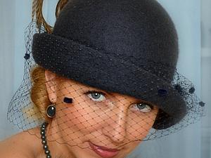 МК Ирины Спасской в Самаре (21-22января 2014) Дамская шляпка на шаблоне берета. Однослойные поля.   Ярмарка Мастеров - ручная работа, handmade