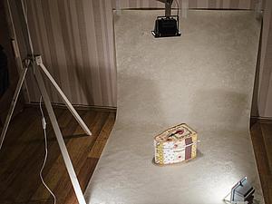 Как сделать штатив для прожектора в домашнюю фотостудию. Ярмарка Мастеров - ручная работа, handmade.