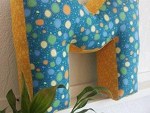 Мастер-класс Буква-подушка. Санкт-Петербург   Ярмарка Мастеров - ручная работа, handmade