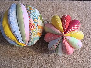 Шьем мячик из ткани. Ярмарка Мастеров - ручная работа, handmade.