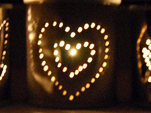Романтичный подсвечник из консервной банки. Ярмарка Мастеров - ручная работа, handmade.