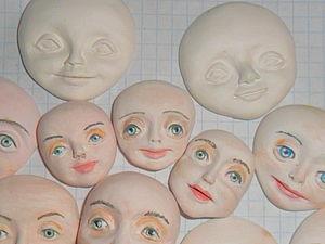 Елочные игрушки. Лепка лица. | Ярмарка Мастеров - ручная работа, handmade
