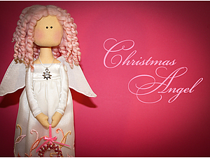 Рождественский Ангел. Мастер класс.. Ярмарка Мастеров - ручная работа, handmade.