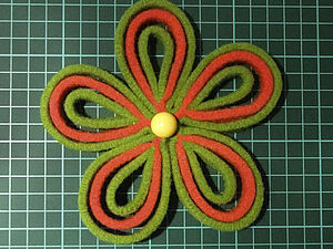 Шьем цветы из фетра. Ярмарка Мастеров - ручная работа, handmade.