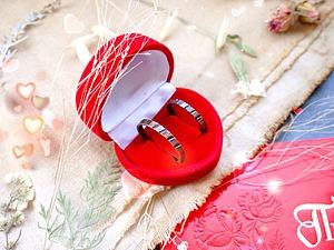 Медная свадьба-медные кольца в подарок! | Ярмарка Мастеров - ручная работа, handmade