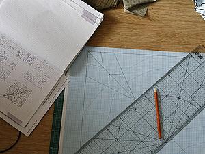 Создаём дизайн-макет с помощью зеркала. Ярмарка Мастеров - ручная работа, handmade.
