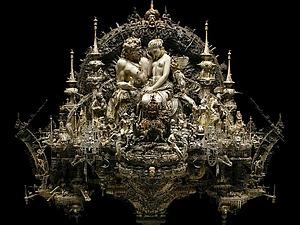 Современное искусство. Необычные скульптуры Криса Кукси (Kris Kuksi). Ярмарка Мастеров - ручная работа, handmade.