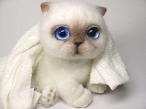 Двухдневный мастер-класс по валянию котенка!   Ярмарка Мастеров - ручная работа, handmade