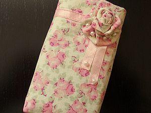 Чехол для мобильного телефона из текстиля | Ярмарка Мастеров - ручная работа, handmade