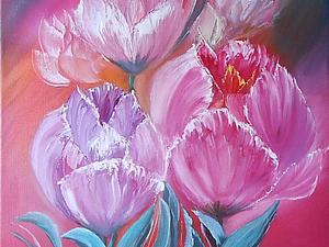 Картины цветов. Какие лучше выбрать цветы и куда повесить картину с цветами. | Ярмарка Мастеров - ручная работа, handmade