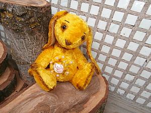 Аукцион с Нуля!!! Тедди Зайка Ищет Дом!!! | Ярмарка Мастеров - ручная работа, handmade