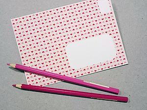 Делаем конвертик для открытки и писем. Ярмарка Мастеров - ручная работа, handmade.
