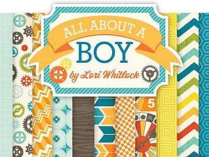 Набор бумаги  All About a Boy | Ярмарка Мастеров - ручная работа, handmade