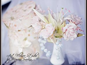 Мастер-класс цветы из шёлка