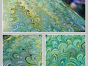 Эбру. Рисование на воде. | Ярмарка Мастеров - ручная работа, handmade