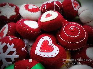 Валяем необычные новогодние игрушки в стиральной машинке | Ярмарка Мастеров - ручная работа, handmade