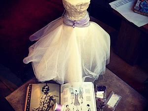 Макет «haute couture»: пошив экспериментального образца вечернего платья. Ярмарка Мастеров - ручная работа, handmade.