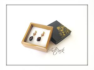 Инструкция по сборке коробочек для бижутерии | Ярмарка Мастеров - ручная работа, handmade