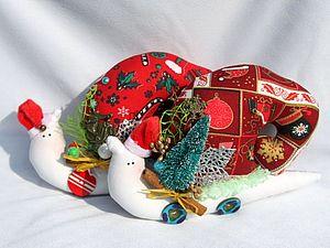 Новогодние настроение или ля-ля-ля я сошла с ума | Ярмарка Мастеров - ручная работа, handmade