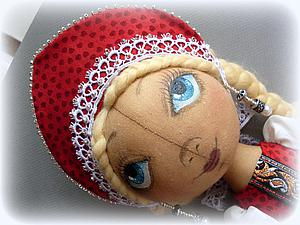 Шьем кукле наряд в русском стиле. Ярмарка Мастеров - ручная работа, handmade.