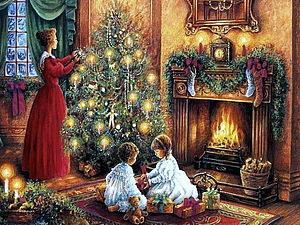 Рождество в стиле кантри   Ярмарка Мастеров - ручная работа, handmade