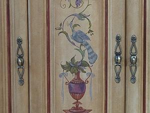 Мастер-класс по росписи мебели. Вазы | Ярмарка Мастеров - ручная работа, handmade