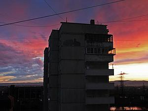 Закат после грозы | Ярмарка Мастеров - ручная работа, handmade