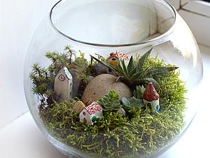 Сад на окне | Ярмарка Мастеров - ручная работа, handmade