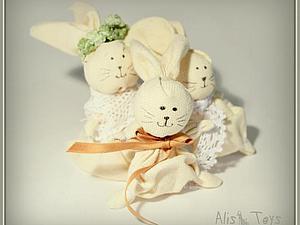 Ручные Пасхальные Кролики | Ярмарка Мастеров - ручная работа, handmade