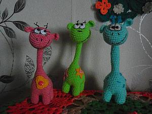 Мастер-класс: позитивные жирафики крючком. Ярмарка Мастеров - ручная работа, handmade.