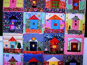 Лоскутная деревенька: идея школьного проекта. Ярмарка Мастеров - ручная работа, handmade.