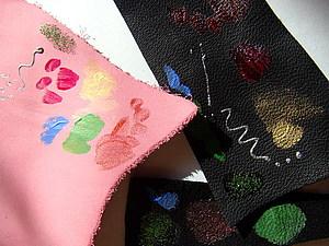 Роспись по коже | Ярмарка Мастеров - ручная работа, handmade