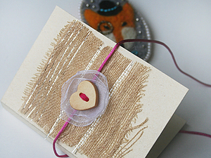 открытка-упаковка на магните для брошки. Ярмарка Мастеров - ручная работа, handmade.