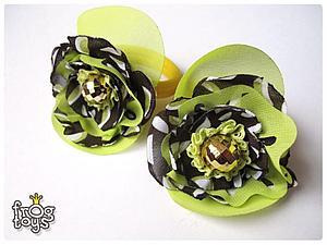 Летние резиночки для волос своими руками. Ярмарка Мастеров - ручная работа, handmade.