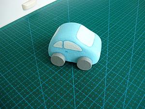 Машинка из картона | Ярмарка Мастеров - ручная работа, handmade