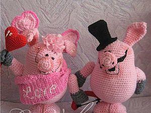 Свинки Валюшка и Васюшка | Ярмарка Мастеров - ручная работа, handmade