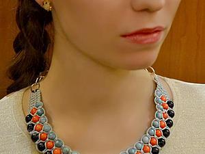 24 мая пройдет мастер-класс по плетению ожерелья-воротничка | Ярмарка Мастеров - ручная работа, handmade