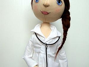 Слушалка для куклы врача | Ярмарка Мастеров - ручная работа, handmade
