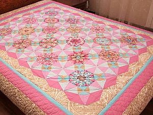 История создания одного одеяла... | Ярмарка Мастеров - ручная работа, handmade