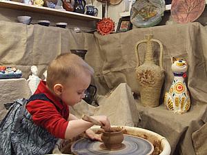 Арт-терапия по гончарному ремеслу для детей дошкольного возраста и школьного с целью развития речи и. Ярмарка Мастеров - ручная работа, handmade.