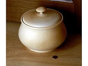 Горшок-супница из массива липы  - 510 р! | Ярмарка Мастеров - ручная работа, handmade