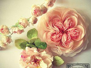 Искусственный цветок — настоящее прошлое. Ярмарка Мастеров - ручная работа, handmade.