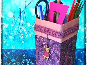 Создаем карандашницу вместе с детьми. Ярмарка Мастеров - ручная работа, handmade.