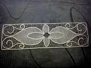 Мастер-класс: изысканная закладка в технике румынского кружева. Ярмарка Мастеров - ручная работа, handmade.