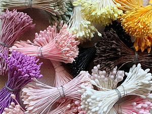 Акция! Японские тычинки отличного качества огромный выбор! 90 рублей! | Ярмарка Мастеров - ручная работа, handmade