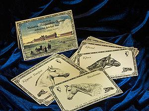 Новинка! Коллекционные открытки с лошадьми. | Ярмарка Мастеров - ручная работа, handmade