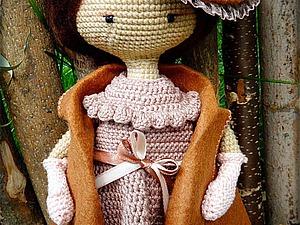 Вяжем куколку в винтажной шляпке в технике амигуруми | Ярмарка Мастеров - ручная работа, handmade