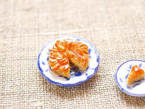 Делаем французский пирог «Татен» в миниатюре из полимерной глины. Ярмарка Мастеров - ручная работа, handmade.
