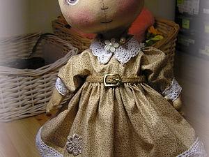 Шьем платье для тыковки | Ярмарка Мастеров - ручная работа, handmade